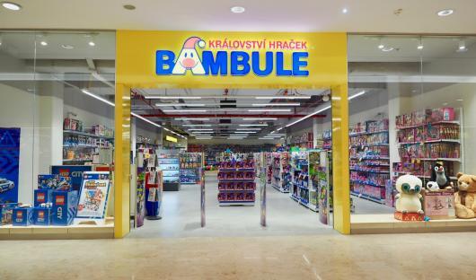 Bambule království hraček