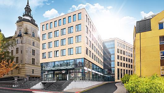 Prodáváme projekt administrativní budovy vKarlových Varech